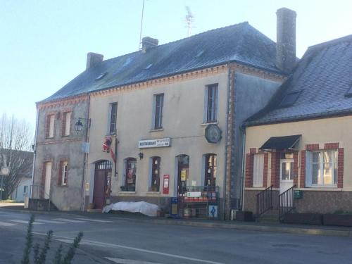 The cafe/bar in the village